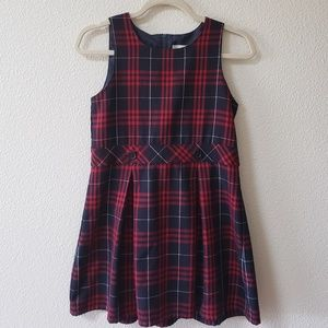 Lands End Classic Plaid Dress